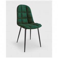 K417 dark green velvet chair