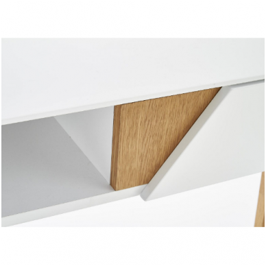 KN-1 rašomasis stalas su lentyna ir stalčiumi 6