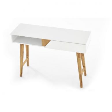 KN-1 rašomasis stalas su lentyna ir stalčiumi 2