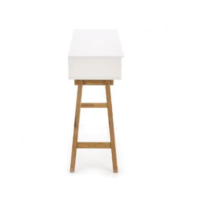 KN-1 rašomasis stalas su lentyna ir stalčiumi 8