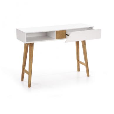 KN-1 rašomasis stalas su lentyna ir stalčiumi 9