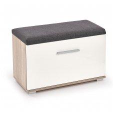 LIMA ST-2 sonomos ąžuolo / baltos spalvos batų dėžė