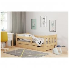 MARINELLA vaikiška lova su stalčiais (pušis)