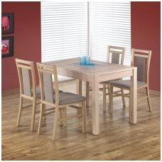 MAURYCY onomos ąžuolo spalvos išskleidžiamas valgomojo stalas