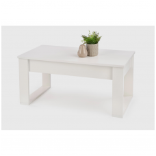 NEA white coffee / magazine table
