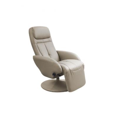 OPTIMA cappuccino spalvos fotelis su išskleidžiamu pakoju