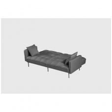 ROBERTO sofa-lova pilka