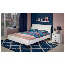 SAMARA 160 balta dvigulė miegamojo lova