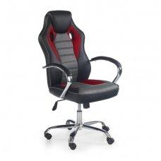 SCROLL raudona vadovo biuro kėdė su ratukais