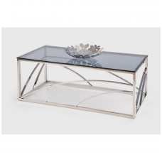 UNIVERSE silver coffee / magazine table