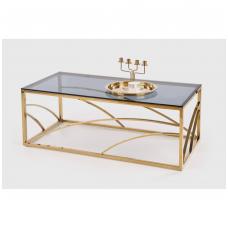UNIVERSE gold coffee / magazine table