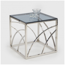 UNIVERSE KWADRAT silver coffee / magazine table