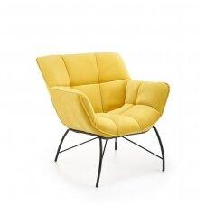 BELTON geltonas fotelis