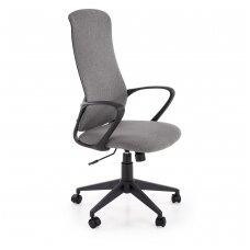 FIBERO pilka biuro kėdė su ratukais