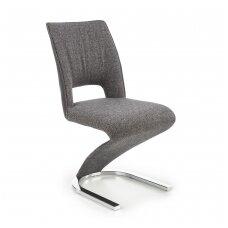 K441 pilka / juoda metalinė kėdė