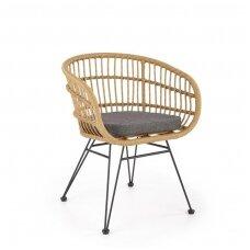 K456 sintetinio rotango / metalinė kėdė