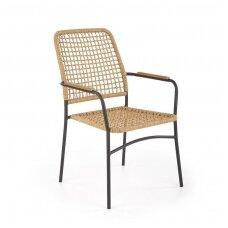 K457 sintetinio rotango / metalinė kėdė