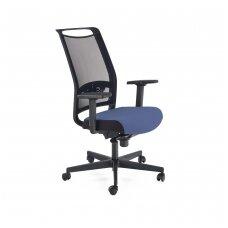 GULIETTA mėlyna biuro kėdė su ratukais