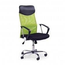 VIRE žalia biuro kėdė su ratukais
