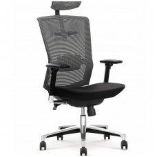 AMBASADOR vadovo biuro kėdė su ratukais